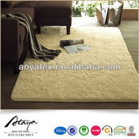 Warm and ultra soft long pile pads and floor mat