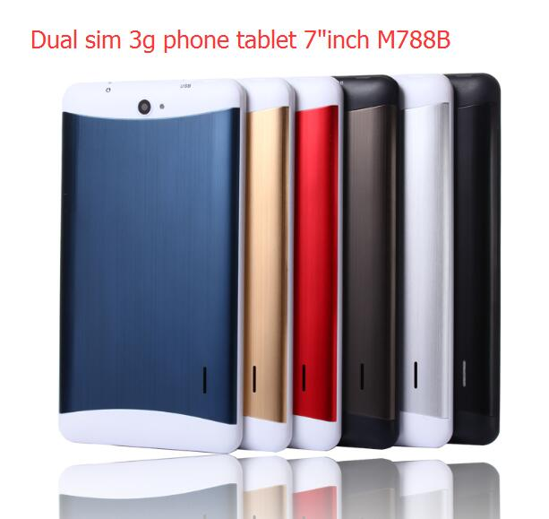 Hot products alibaba best 7inch mid phone tablet metal back 3g tablet pc phone