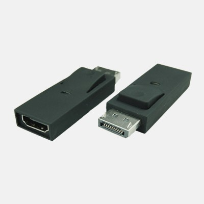 DP Displayport Male To Female HDMI Adapter Converter with lock