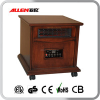 Wood Enclosure Wholesale Cabinet Infrared Quartz Heater for Indoor Heating