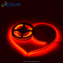 CE RoHS approved Red color 120leds/meter smd 3014 ultra bright led strip for lighting