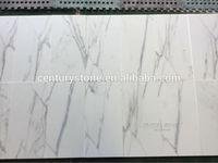 High Quality Natural Stone Italian Statuario White Marble Tiles