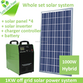 Hotselling easy install green energy generator 1 kw off grid solar system for home