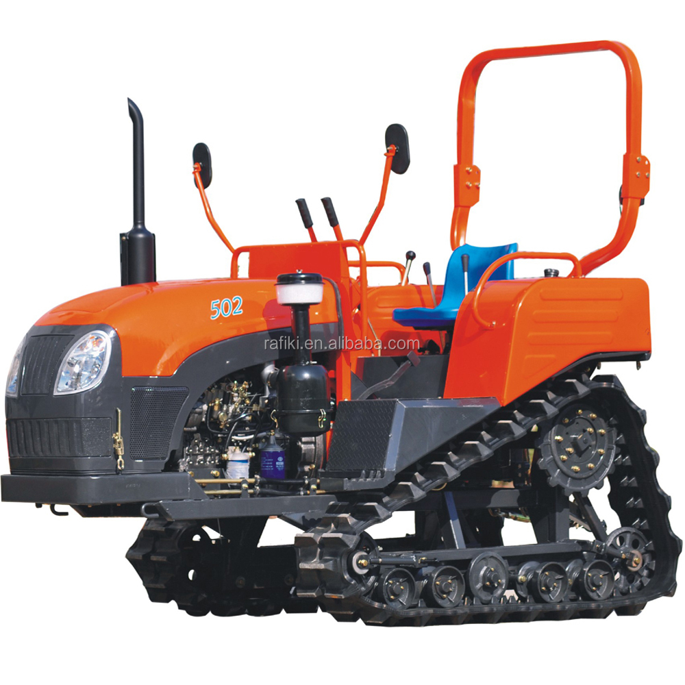 Agricultural equipment small crawler tractor 60HP small tractor for sale