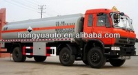 6x2 16.5CBM Dongfeng chemical liquid tank truck for sale