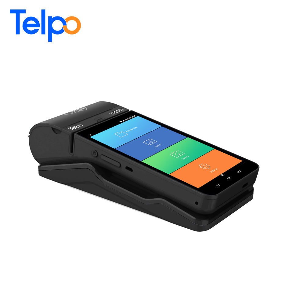 Telpo TPS900 Mobile Android Handheld Pos Terminal with Barcode scanner and thermal printer