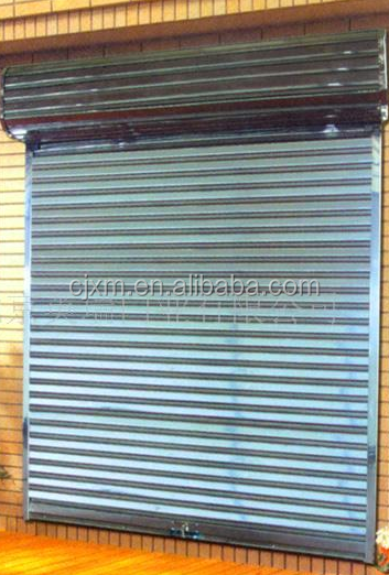 Motorized Folding DoorsShort And Steel Door Material Roll Up Gate Door