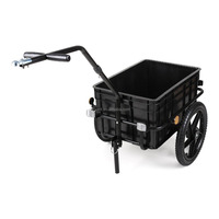 70 Liter Capacity Bicycle Cargo Trailer/Tow dolly trailer