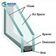 Double silver Low-E tempered insulated glass panels