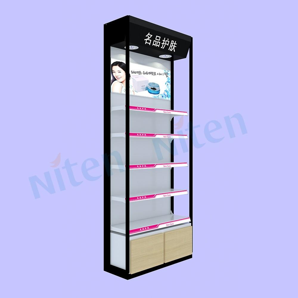 single side free standing display pop floor stand display. Black Bedroom Furniture Sets. Home Design Ideas