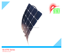 SUNSUN top quality ETFE flexible solar panel 100W with cell 22% efficiency