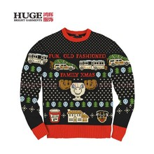 Custom Designs Vacation Theme Ugly Christmas Sweater Knitting Patterns