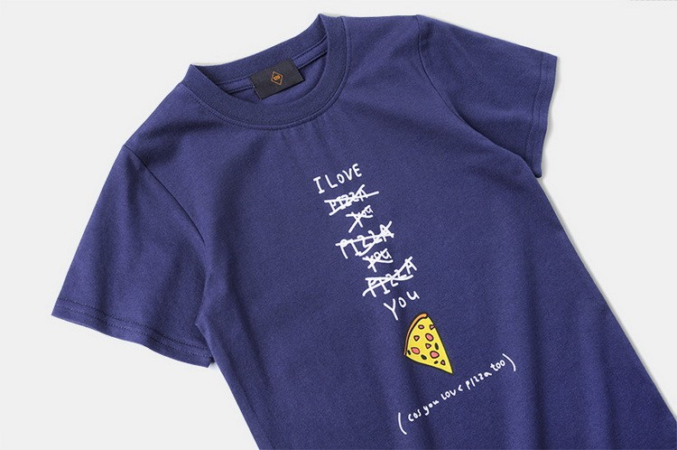 ins Summer new Japanese letter printed children short sleeve t-shirt