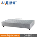 easy assembly hotel mattress foundation with strong wooden slats support / metal bed frame DJ-BD01