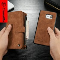 Retro leather phone case,mobile phone case for samsung s6edgeplus,s6edge pluscase mobile phone accessories factory