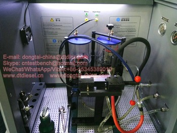 Automotive common rail electrical CR318 heui injector test bench