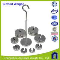 balance weight suppliers, SLOTTED AND HANGERS, 1g-500g slotted weight set