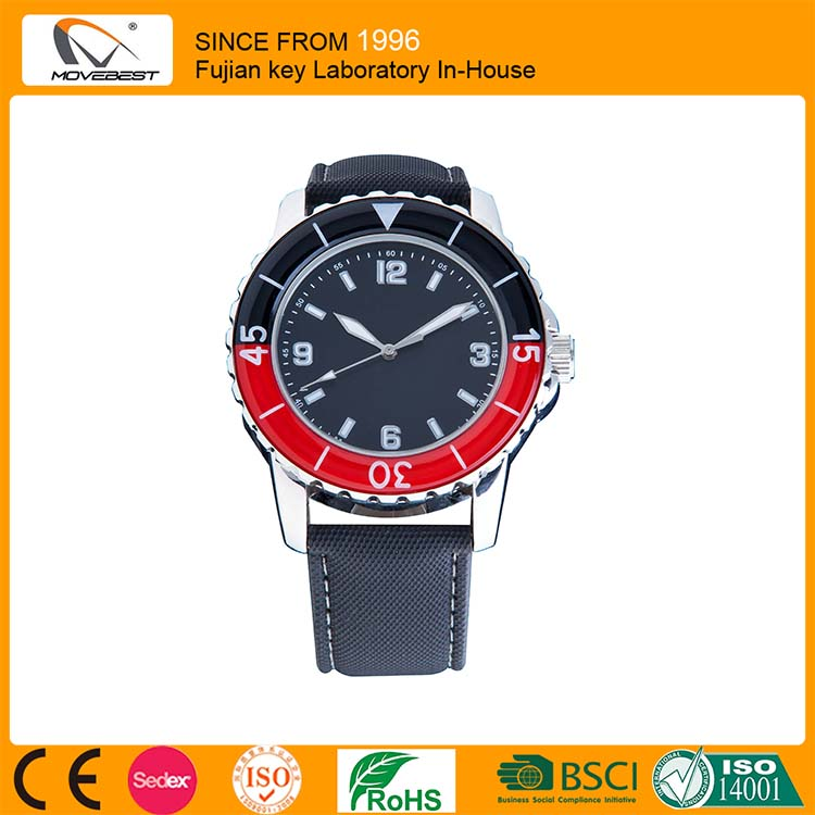 2016 Factory Wholesale Hot Sale Men Wristwatches Promotional Gifts Watch