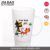 2016 nice quality frosting glass mug for espresso with decals