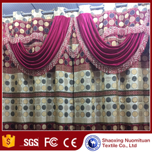 window curtain fabric cloths knitted curtain fabric cheap fancy window curtain