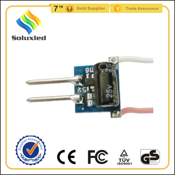 led bulb driver for mr16 base