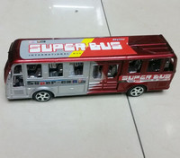 hot selling plastic toy buses, super bus toy