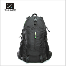 Custom bulk camping backpack/oem mountaineering bag/backpack with rain cover