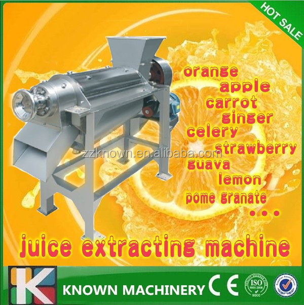 CE Certificate Industrial Juice Making Machine For Apple Carrot Celery Strawberry