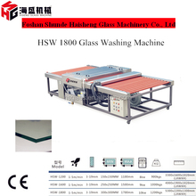 Low costing&portable washing glass machine for Tempered glass