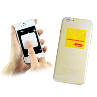 Customized mobile phone cleaner sticker