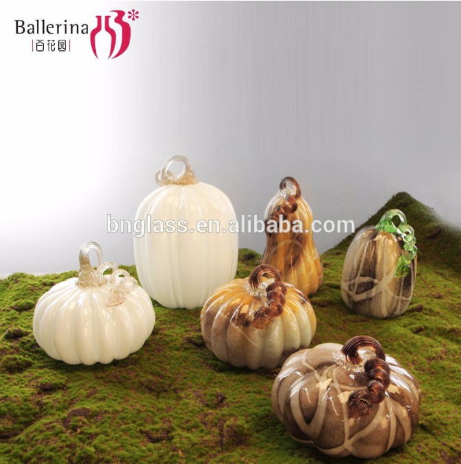 BALLERINA modern vases Halloween ornament white red Pumpkin shape holiday decoration