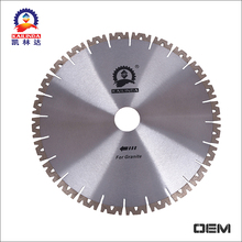 New design W shape segments diamond tile cutting tool 350mm stone cutting saw blade