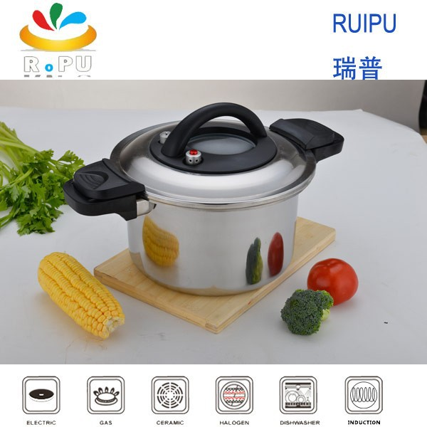 The newest style pressure cooker stainless steel cookware, gas pressure cooker , gas rice cooker from zhejiang jinhhua
