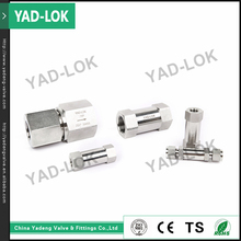 YAD-LOK NPT Single End Shutoff Quick Connect Pneumatic Fittings