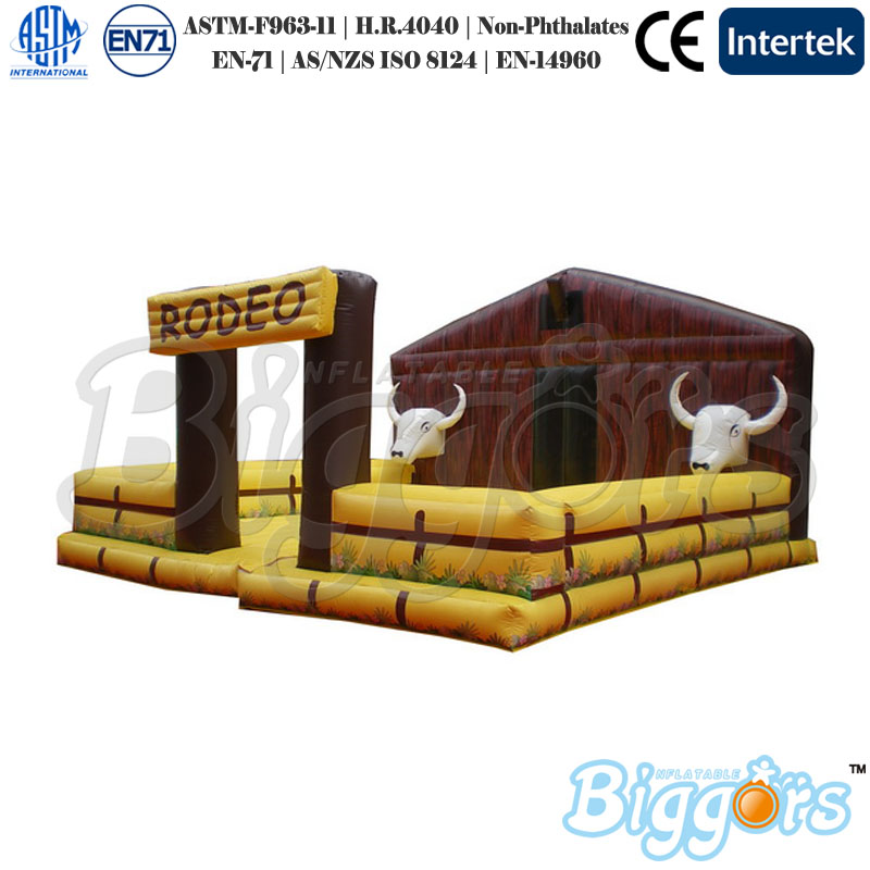 Inflatable Bull Riding Machine Mechanical Bull For Sale