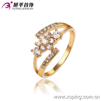 13177-best sale xuping jewelry 18k gold colour women's ring 2016 fashion gold jewelry