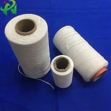 <strong>polyester</strong> <strong>yarn</strong> cable filler RoHS free <strong>polyester</strong> chemecal fiber <strong>yarn</strong> 7S 10S 20S white and white strengthen snow white twist