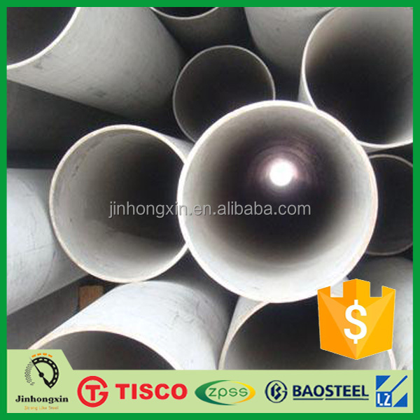 Large diameter 600mm Decorative Stainless Steel Pipe tube 201 cover