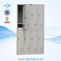 4 compartments steel cabinet locker