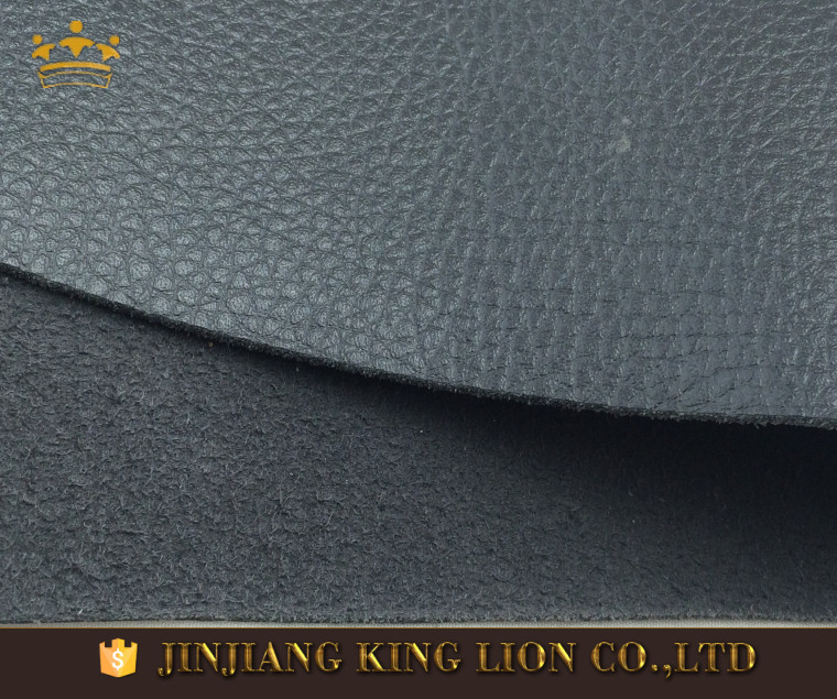Microfiber leather rexine pu upper shoes material