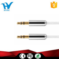 Material male to male 3.5mm audio cable for car audio cable