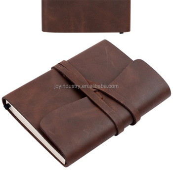 ZH227 Wholesale Leather Travel Journal,Genuine Leather Journal Notebook