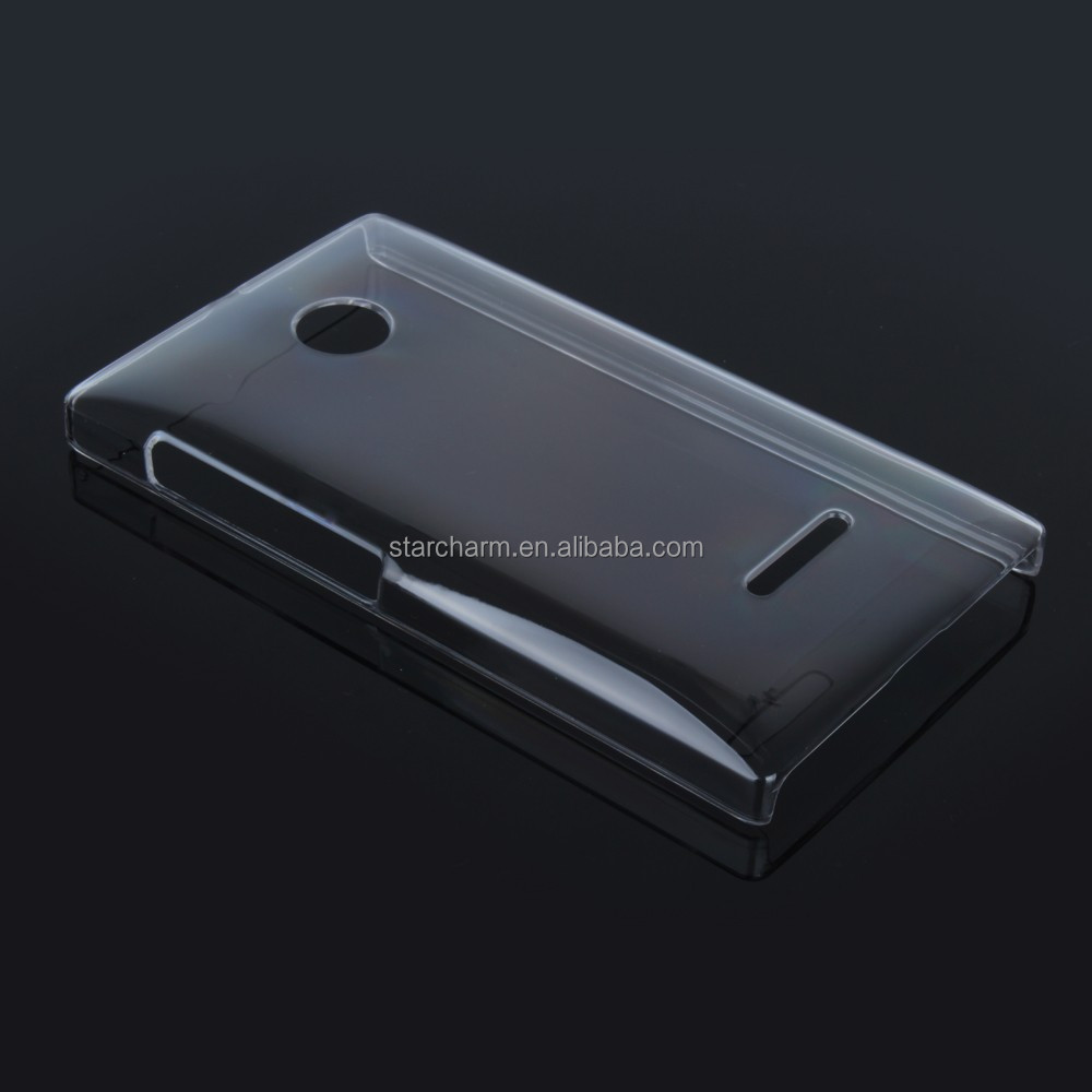 Smart phone case TPU Soft Case Crystal Clear Cover For Nokia Lumia 532