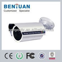 Super Low Light Technology 600TVL CCTV Bullet IR Camera With 2.8-12mm Varifocal Lens