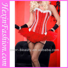 Wholesale Hot Sexy Red Stripper Wear Corset