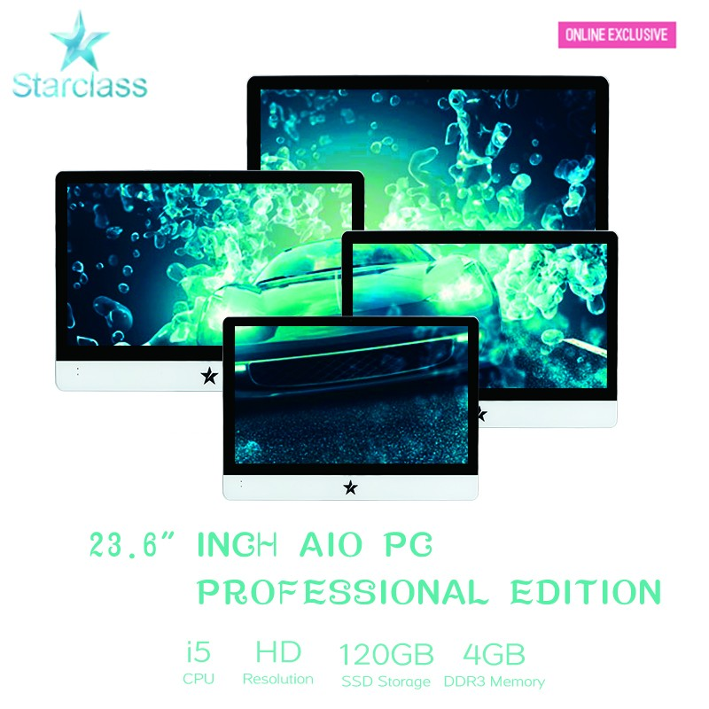 23 24 inch i5-2410M 4GB 500GB LCD LED FHD Desktop Monitor / Home <strong>Computer</strong> / Office PC