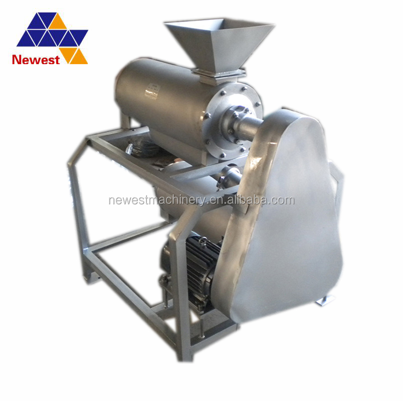 Nuclearing and peeling fruit paste beating machine,vegetable grinding machine