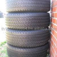 Tires used for passenger cars