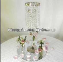 crystal table top chandelier centerpiece for wedding decoration
