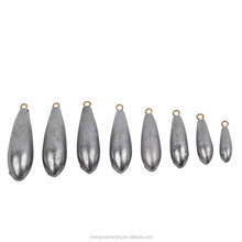 Wholesale Best Price Lead Ice Sea Fishing Tackles Cast Throw Lead Egg Sinker